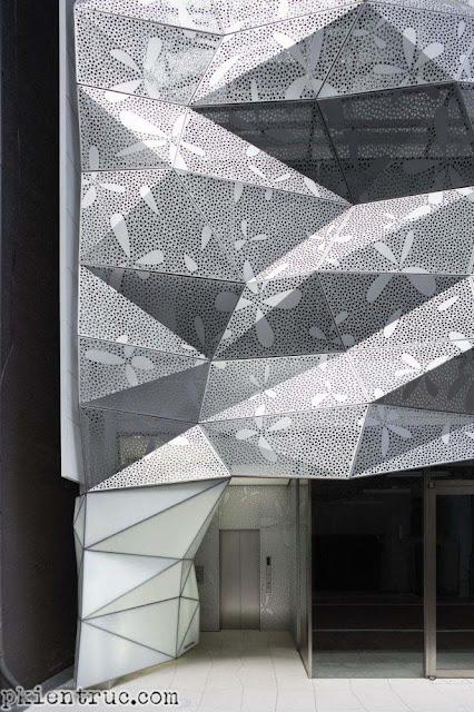 tấm kim loại chất lượng cao tạo hình trang trí mặt tiền- 04