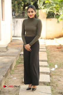Tollywood Actress Punarnavi Bhupalam Latest Po Gallery in Black Trouser Pant at Pittagoda Movie Interview  0151.JPG