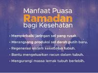 Maznfaat Puasa Ramadhan Bagi Kesehatan