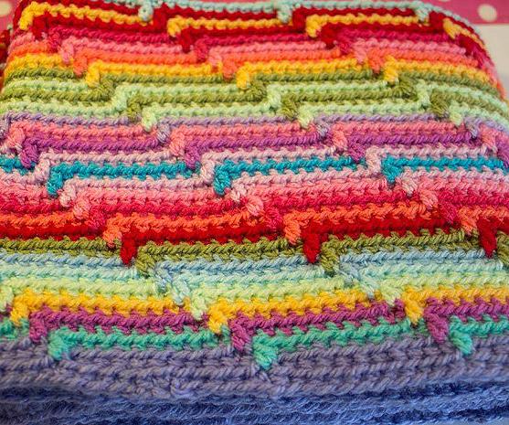 Patrones crochet - Hacer manta de ganchillo ...