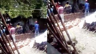 পাংশায় আদিবাসীদের জমি দখল করে বালু ভরাটসহ প্রাচীর নির্মাণের অভিযোগ