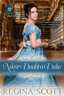 Heidi Reads... Never Doubt a Duke by Regina Scott