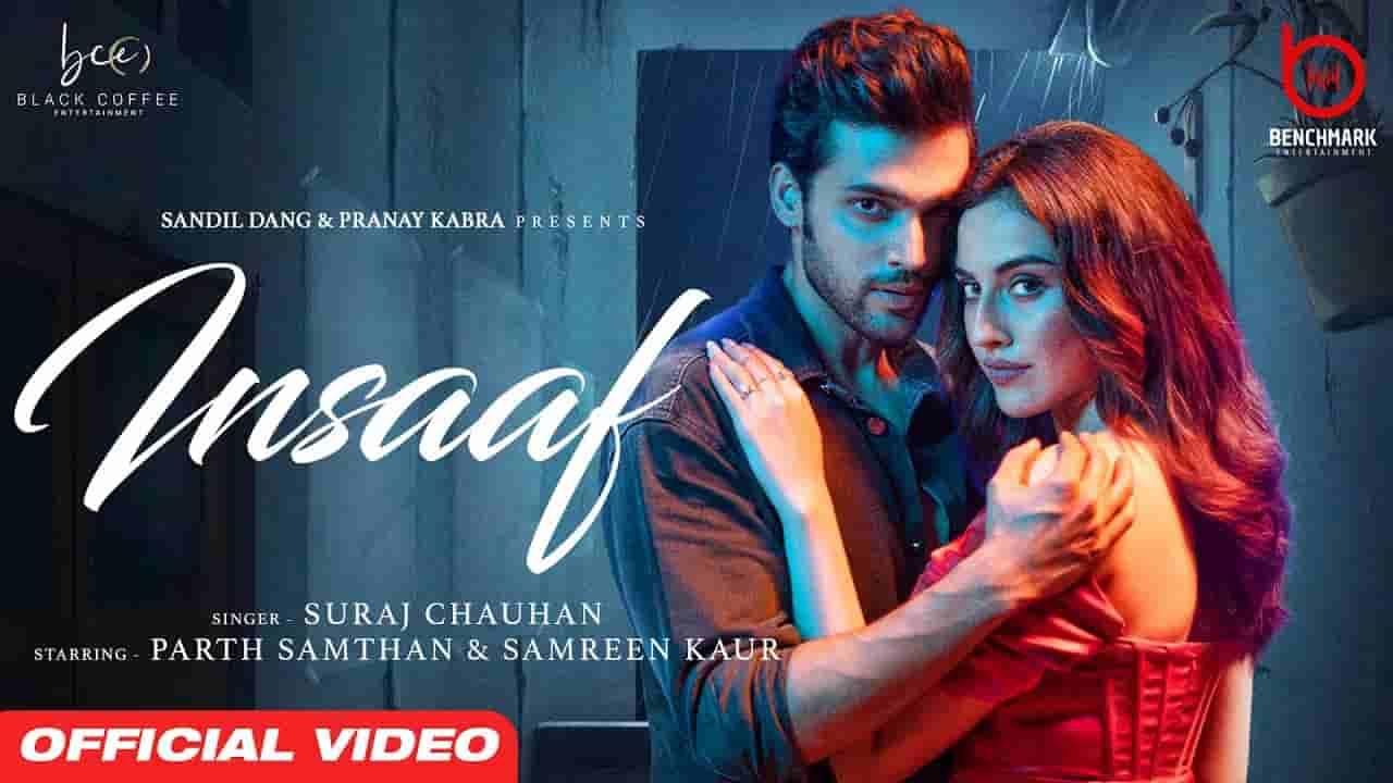 Insaaf lyrics Suraj Chauhan Hindi Song