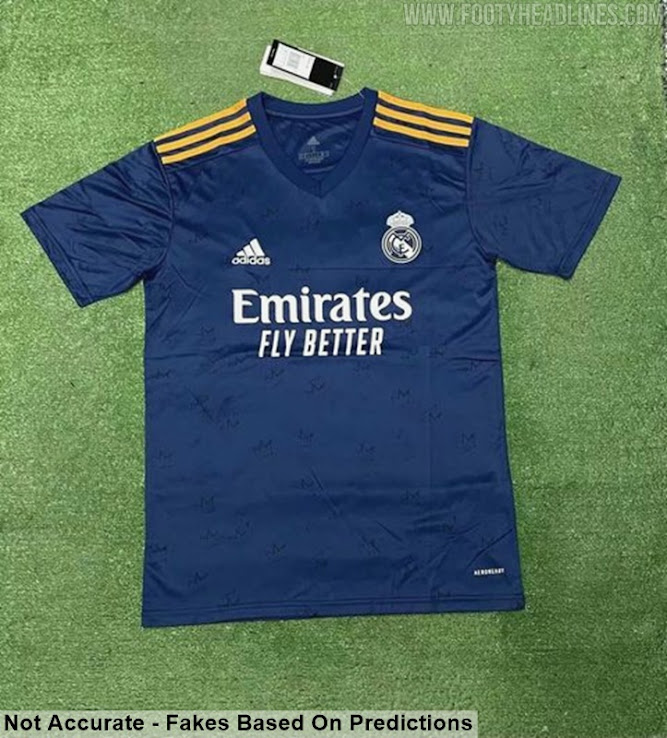 Adidas Real Madrid 21-22 Home & Away Kits Leaked? - Footy ...