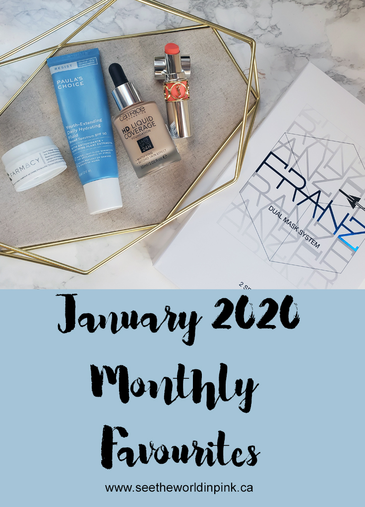 January 2020 - Monthly Favourites!