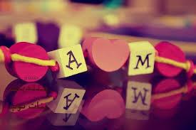 صور حروف خلفيات رومانسية مكتوب عليها حرف a m