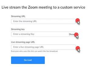 Cara  Mudah Custom Streaming  Zoom di Youtube