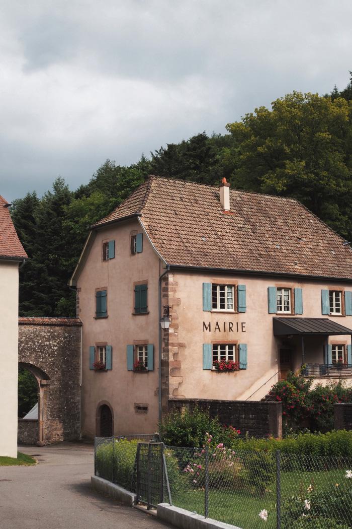 Village de Murbach en Alsace