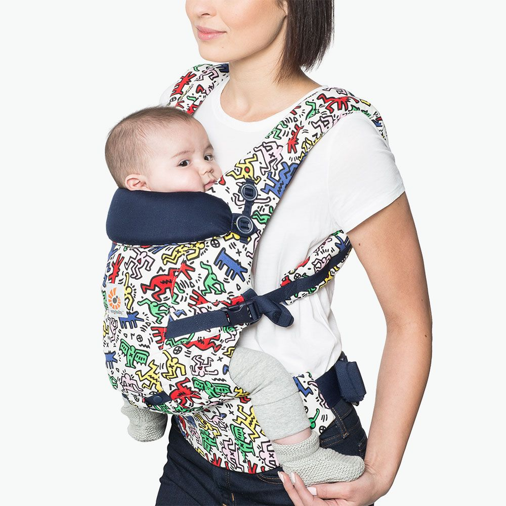 707feb77fbd The new Ergobaby Keith Haring limited edition collection is now available.  There are two cute patterns for both the 360 All Carry Positions Baby Carrier  and ...