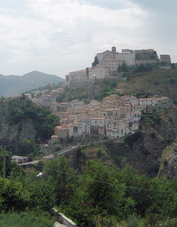 Muro Lucano perches on a hillside near Potenza