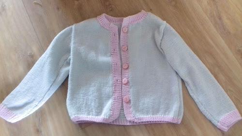 gilet tricot enfant 6 ans fille Phildar