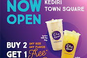 Chatime Promo Now Open Kediri Town Square Buy 2 Get 1 Free