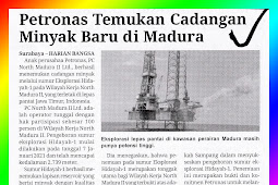 Petronas Finds New Oil Reserves in Madura