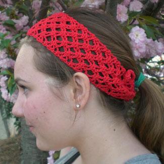 Knitting Patterns Free Crochet Headband Pattern