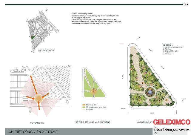 Thiết kế chi tiết công viên