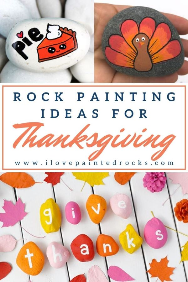 25 of the best Thanksgiving rock painting ideas. Includes Thanksgiving rock painting tutorials, the best painted rocks from Etsy and Thanksgiving painted rocks from Instagram. #ilovepaintedrocks #rockpainting #paintedrocks #stonepainting #paintedstones #rockpaintingideas #thanksgivingcrafts #thanksgivingrocks