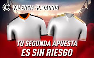 sportium Promo Valencia vs Real Madrid 8 enero 2020