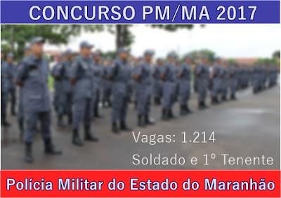 Apostila para concurso Polícia Militar MA - Soldado Praça PMMA 2017.