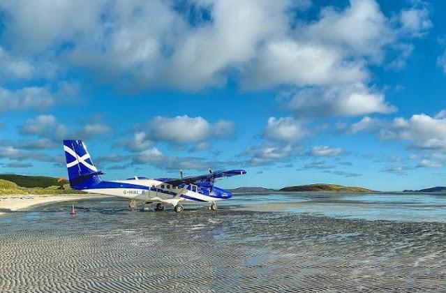 2. Bandara Barra di Hebridean Skotlandia