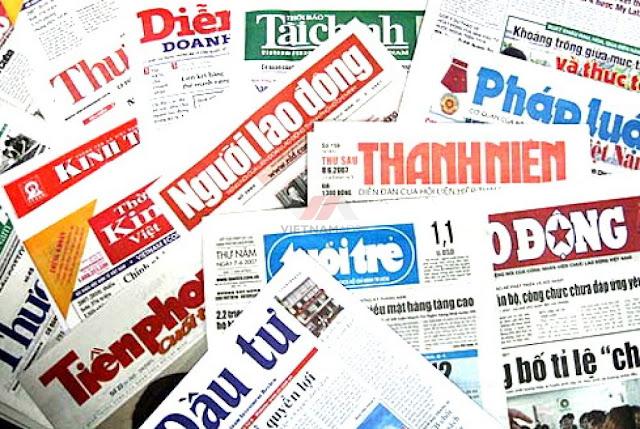 Kích thước thiết kế Banner tạp chí, báo giấy