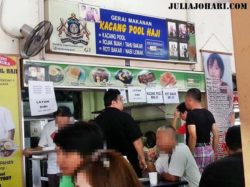 Kacang Pool Haji Larkin Johor Bahru Tak Sedar Aku Menambah Lagi !
