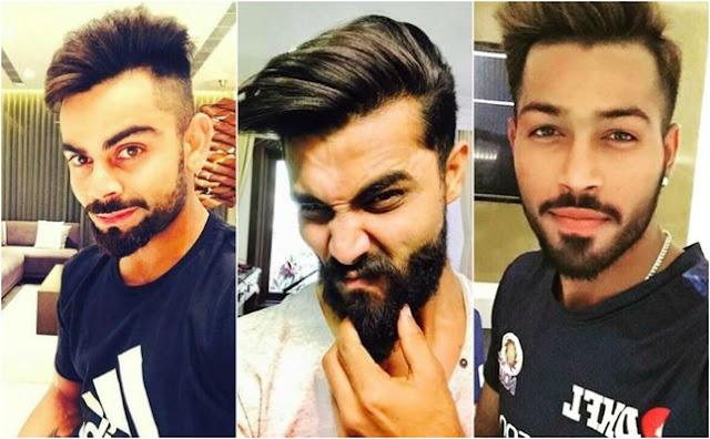भारतीय क्रिकेटर्स स्टाइलिश अवतार