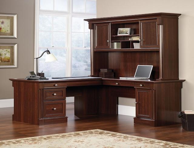 best buy wood home office desk cupboard for sale