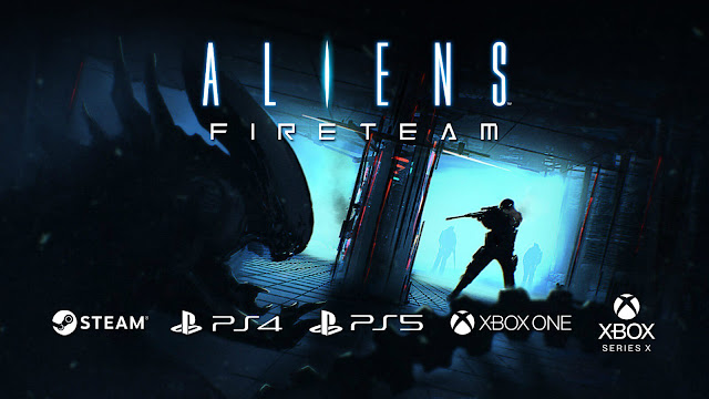 aliens fireteam reveal xenomorph third-person survival co-op pve shooter pc steam ps4 ps5 xbox one xsx cold iron studios 20th century games