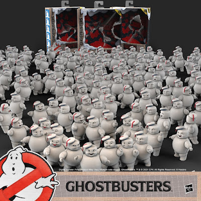 Ghostbusters Plasma Series Mini-Pufts Figure 3 Pack by Hasbro