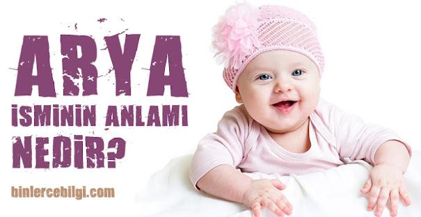 Arya ne demek? Arya isminin anlamı nedir? Arya adı kuranda geçiyor mu? Arya ismi hakkında kısa bilgiler. Arya isminin anlamı hakkında merak edilenler..