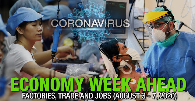 Economy Week Ahead: Factories, Trade and Jobs (August 3 - 7, 2020)