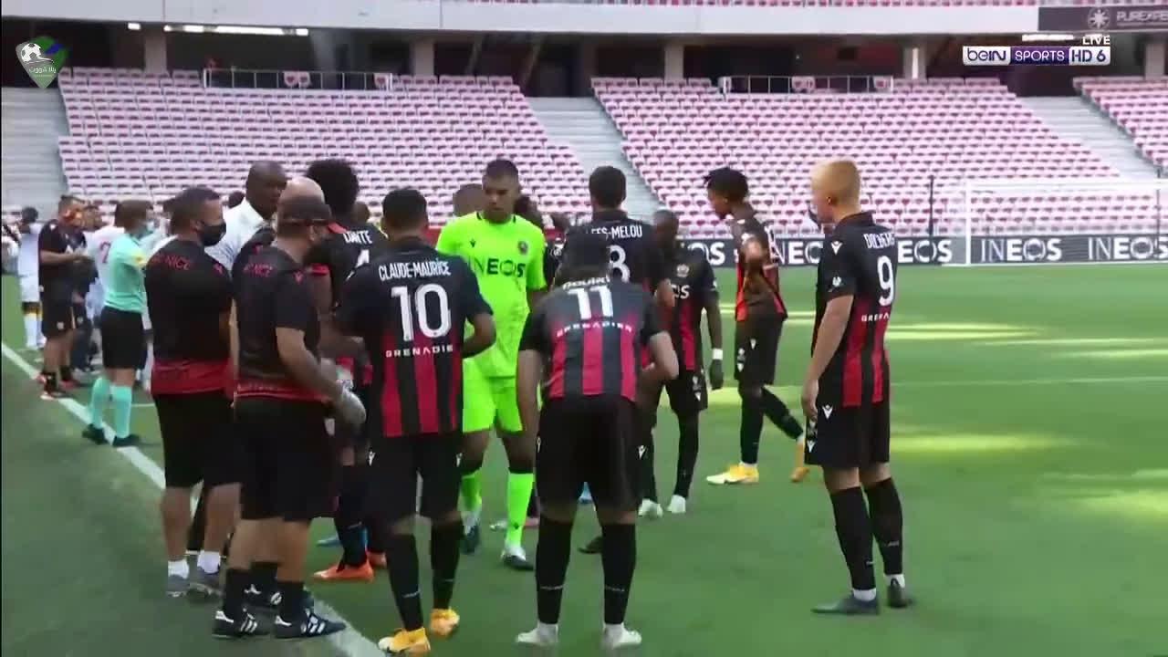 أهداف مباراة نيس 2-1 لانس بتاريخ 2020-08-23 الدوري الفرنسي