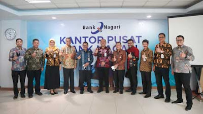 Bank Nagari Raih Paritrana Award 2020 dari BP Jamsostek