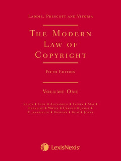 Book Review: The Modern Law of Copyright AKA Laddie, Prescott and Vitoria