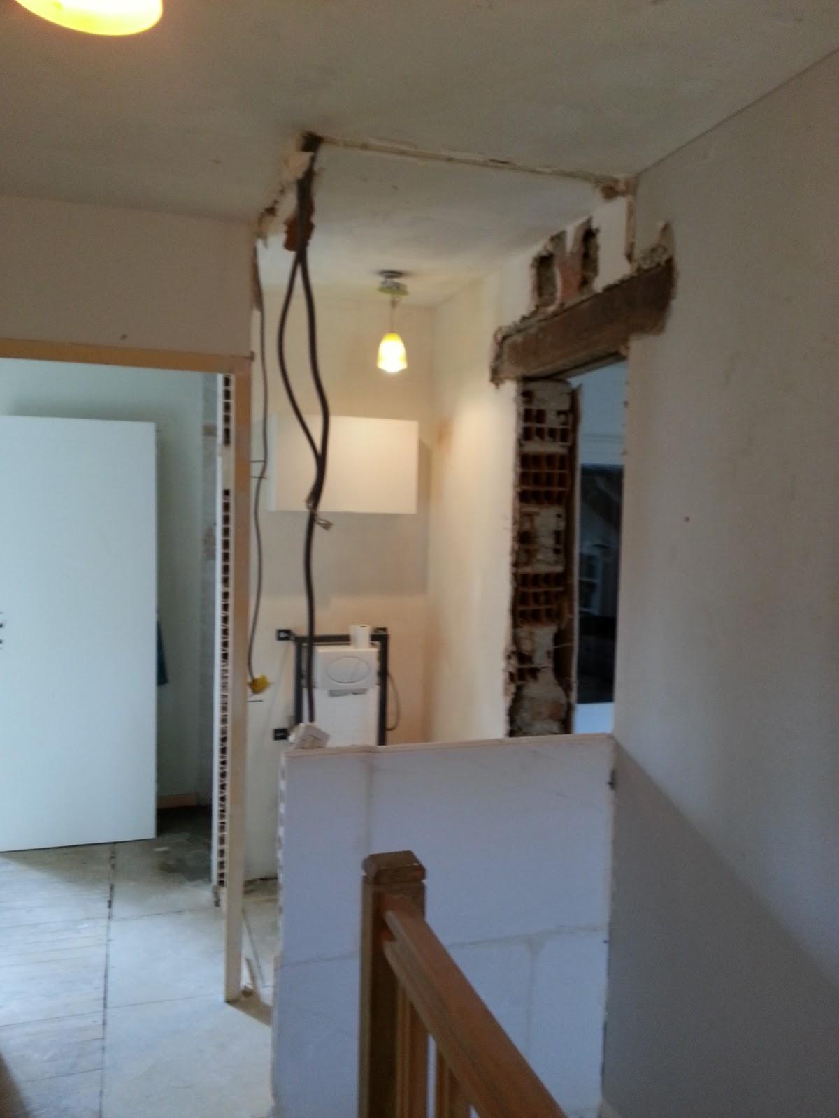 la maison de poppie casser un mur porteur. Black Bedroom Furniture Sets. Home Design Ideas