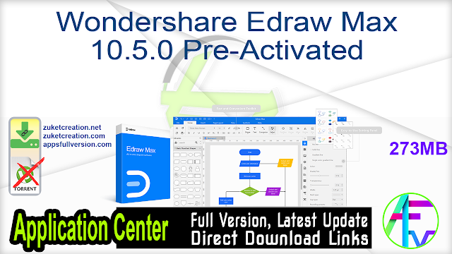 Wondershare Edraw Max 10.5.0 Pre-Activated