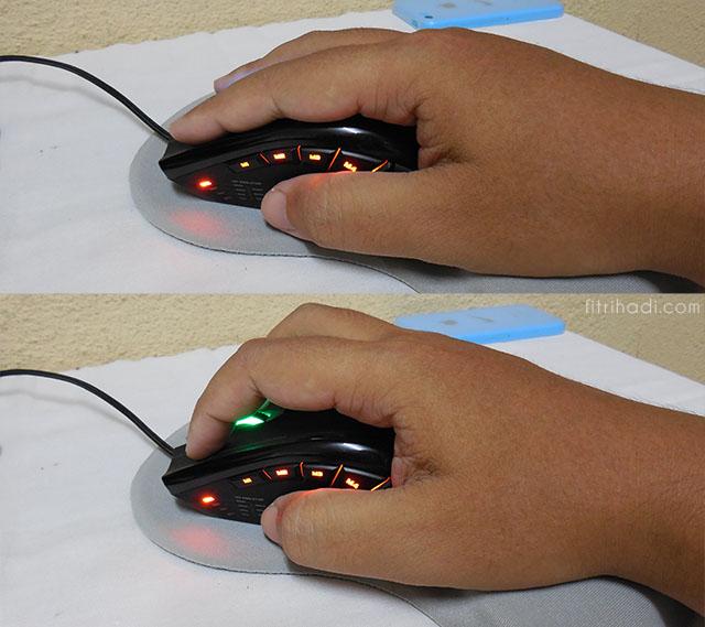 (Ulasan) Armaggeddon NRO-5 Starship III Gaming Mouse