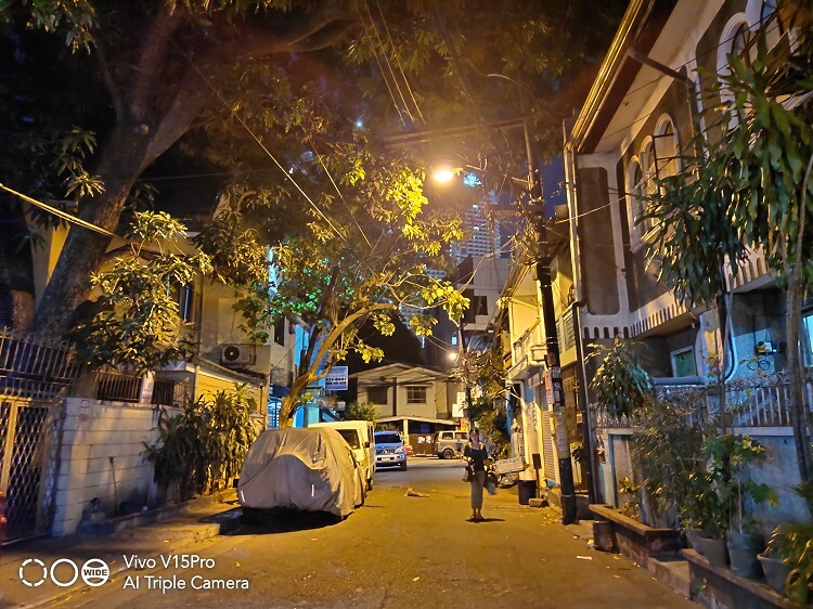 Vivo V15 Pro Main Camera Sample - Night