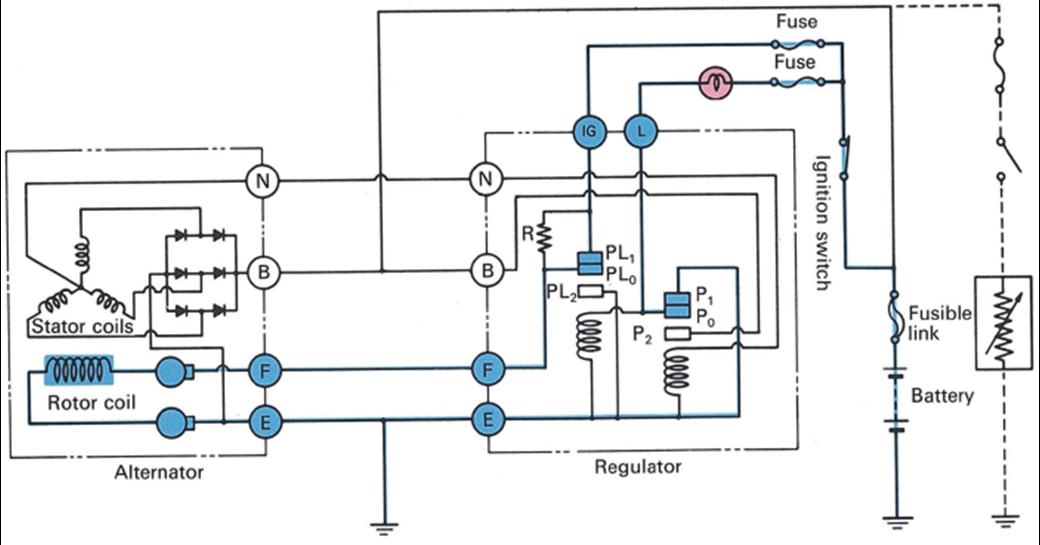 Cara Kerja Sistem Pengisian   Charging System