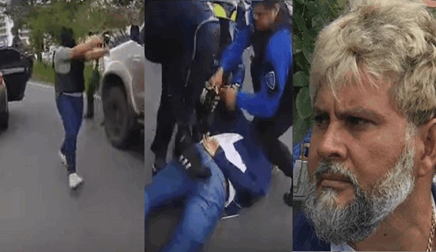 """VIDEO; Así detuvieron a """"El M-1"""" jefe de """"Los Moreco"""" y operador de """"El Mayo"""" Zambada y el Cártel de Sinaloa tras persecución"""