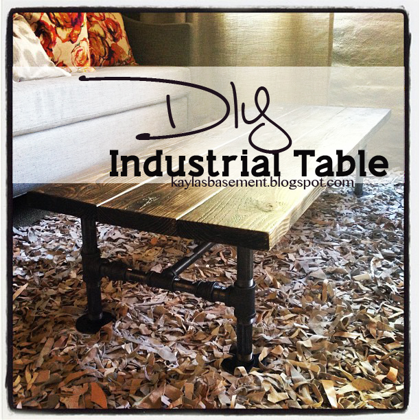 Build Industrial Coffee Table