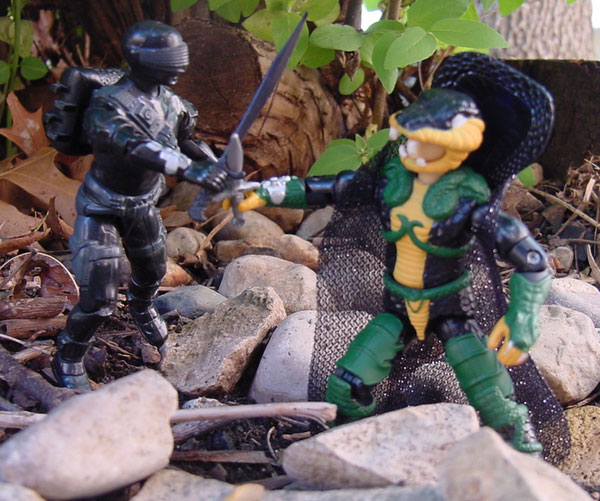 2002 Serpentor, ARAHC, Internet Exclusive, 1985 Snake Eyes