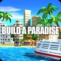 Tropic Paradise Sim: Town Building City Island Bay Mod Apk