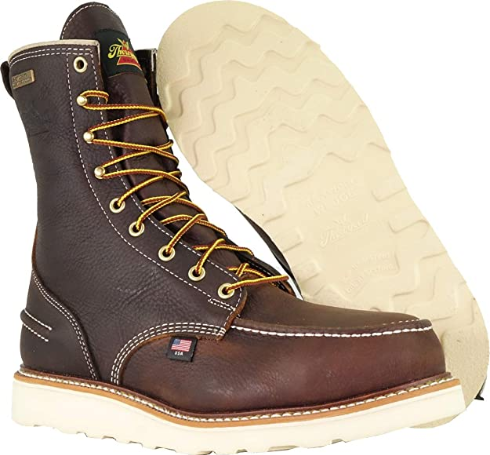 MAXwear Wedge Waterproof Safety Toe Thursday Boots