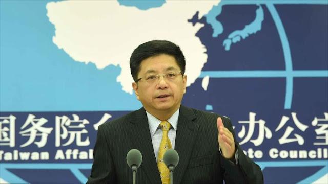 Pekín insta a EEUU a evitar movimientos peligrosos en Taiwán