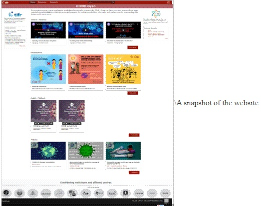 Science-based-website-on-COVID-19
