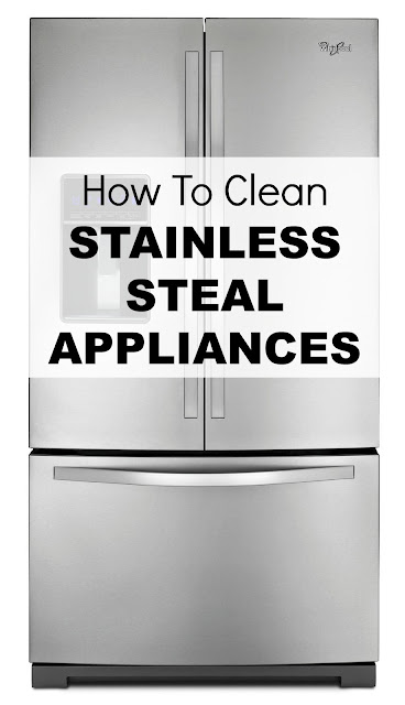 how to clean stainless steel appliances green homemade cleaners natural house cleaning. Black Bedroom Furniture Sets. Home Design Ideas