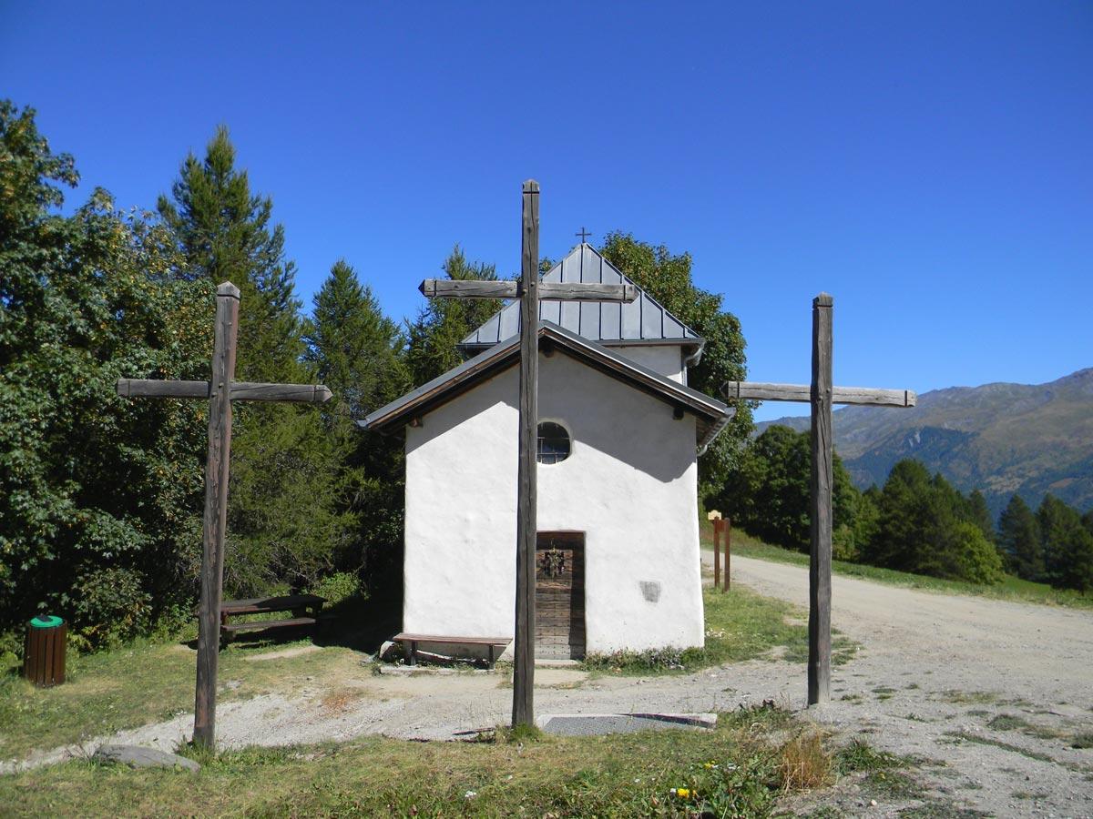 Trois croix Valloire été