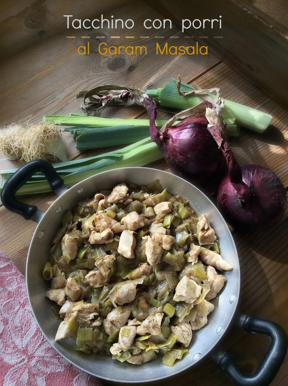 ricette con garam masala
