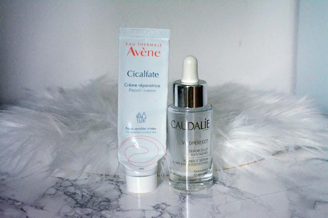 acné hormonale routine anti taches cicatrice vinoperfect sérum caudalie cicalfate avene